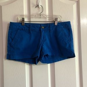 Junior size 9 royal blue shorts by SO